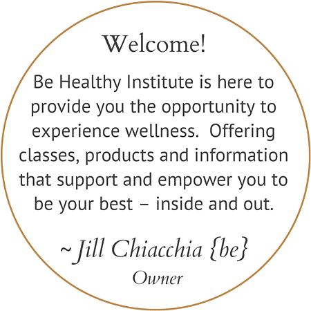 Welcome to our Be Healthy Community.  I believe that we can careat ou own beautiful path to wellness by the mentors and experiences we choose along life's journey.