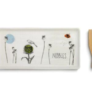 Nibbles App tray and spatula