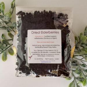 Dried Elderberries